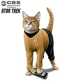 Cat-tain Kirk Figurine