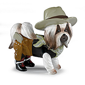 Dog-Gone Dueller Figurine