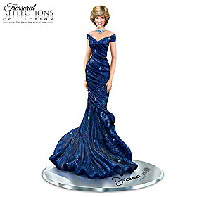 Royal Blue Radiance Figurine