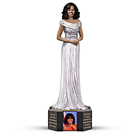 Michelle Obama By Keith Mallett Sculpture
