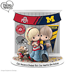 Our House Is Divided But Our Hearts Are United Figurine