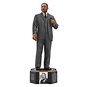 Dr. Martin Luther King, Jr. By Keith Mallett Figurine