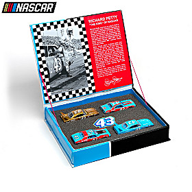 Richard Petty Diecast Car Set