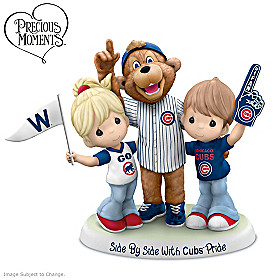 Side By Side With Cubs Pride Figurine