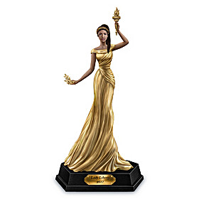 2017 Golden American Liberty Lady Figurine