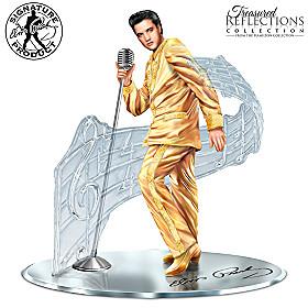 Treasured Reflections Of Elvis Presley Sculpture