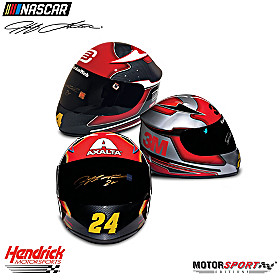 Jeff Gordon Autographed Replica Racing Helmet