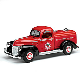 1:32-Scale 1940 Ford Texaco Tanker Diecast Truck
