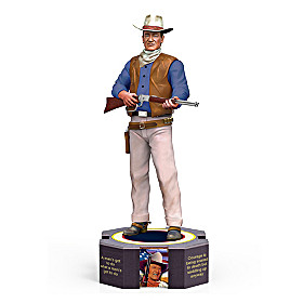 John Wayne Limited Edition Figurine
