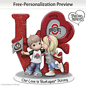 Our Love Is Buckeyes Strong Personalized Figurine