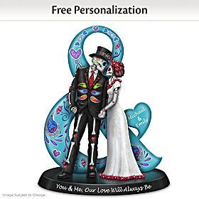 You & Me, Our Love Will Always Be Personalized Figurine