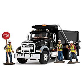 Construction Perfection Diecast Truck Set