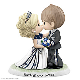 Precious Moments Cowboys Love Forever Figurine