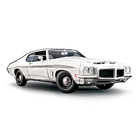 1:18-Scale 1972 Pontiac GTO Diecast Car