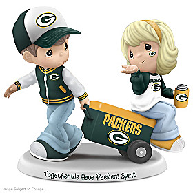 Together We Have Green Bay Packers Spirit Figurine