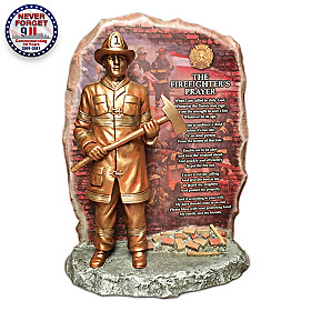 The Firefighter's Prayer Sculpture
