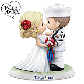 Precious Moments Always Strong Figurine