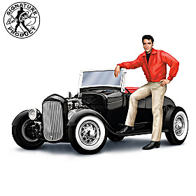 Elvis Presley's Rockin' Roadster Sculpture