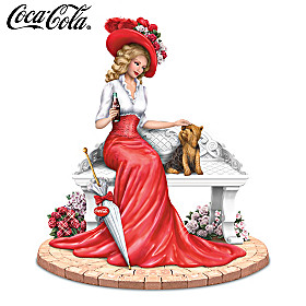 A Delightful Day By COCA-COLA Figurine