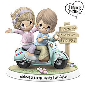 Retired & Living Happily Ever After Figurine