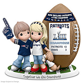 Together We Are Champions New England Patriots Figurine