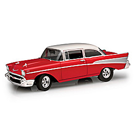 1:18-Scale 1957 Chevrolet Bel Air Street-Strip Diecast Car