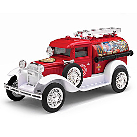 1:25-Scale Ford Model A Diecast Fire Pumper Coin Bank
