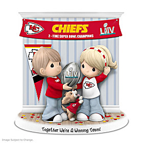 Together We're A Winning Team Kansas City Chiefs Figurine