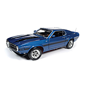 1:18-Scale Shelby Mustang Fastback Diecast Car