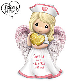 Nurses Have Hearts Of Gold Figurine