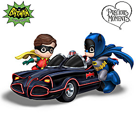 Precious Moments BATMAN & ROBIN Heroes At Heart Figurine