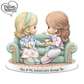 Precious Moments You & Me, Sisters We'll Always Be Figurine
