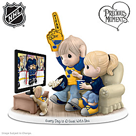 Every Day Is A Goal With You Blues® Figurine