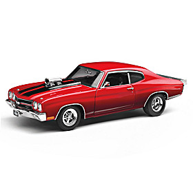 1:18-Scale Drag Outlaws 1970 Chevelle SS Diecast Car