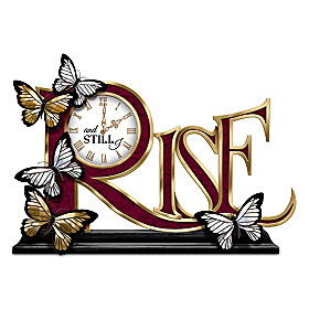 And Still I Rise Clock