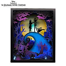 Disney Tim Burton's The Nightmare Before Christmas Sculpture