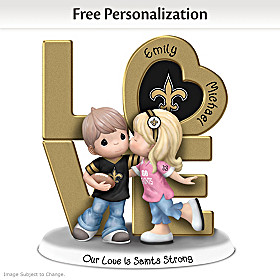 Our Love Is Saints Strong Personalized Figurine