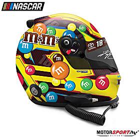 Autographed Kyle Busch M&M's Classic 2019 Racing Helmet