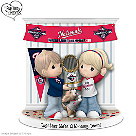Together We're A Winning Team Washington Nationals Figurine