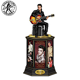 The Man, The Legend, The King Tribute Tower Sculpture