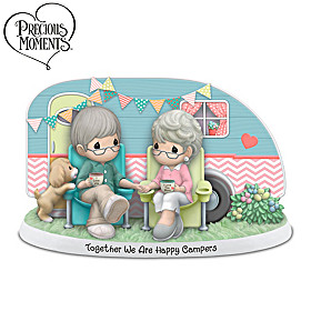 Precious Moments Together We Are Happy Campers Figurine