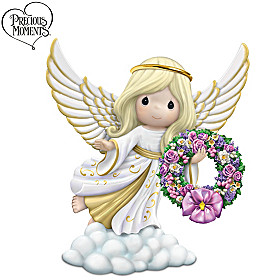 Light Throughout The Seasons Angel Figurine