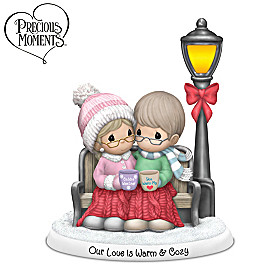 Precious Moments Our Love Is Warm & Cozy Figurine