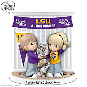 Together We're A Winning Team LSU Figurine