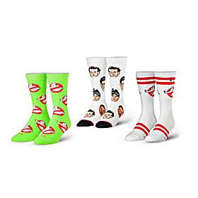 Ghostbusters Socks 3-Pair Set