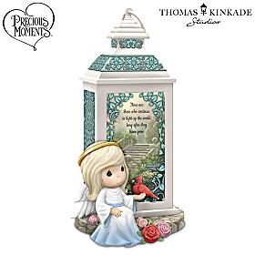 Precious Moments Thomas Kinkade A Light So Great Lantern