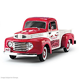 History & Heritage Cardinals Ford Pickup Sculpture