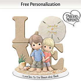 I Love You To The Beach And Back Personalized Figurine