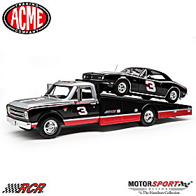 No. 3 Ramped Up For Victory Diecast Ramp Truck And Car Set
