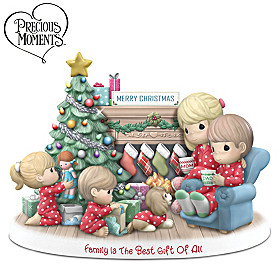 Precious Moments Family Is The Best Gift Of All Figurine